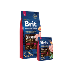 Brit Premium by Nature dog Adult L 15 kg