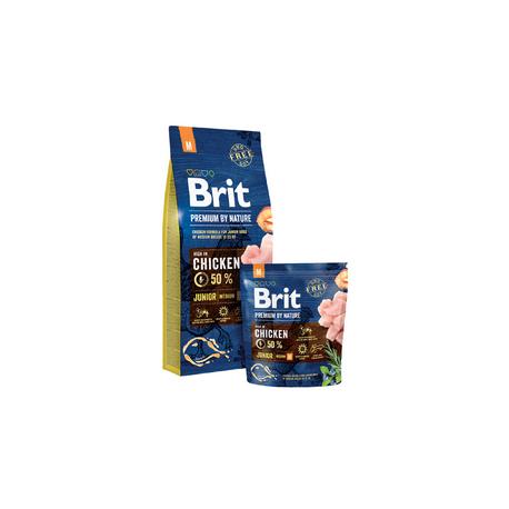 Brit Premium by Nature dog Junior M 15 kg