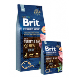 Brit Premium by Nature dog Light 15 kg
