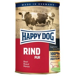 Happy Dog konzerva Rind pur 400g