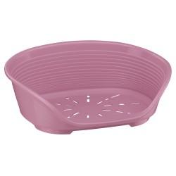 Ferplast Siesta Deluxe 4 plastové ležadlo ružové