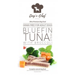 DOG'S CHEF Bluefin Tuna steak with Broccoli 15 kg