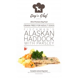 DOG'S CHEF Fischman's Alaskan Haddock with Parsley 15 kg