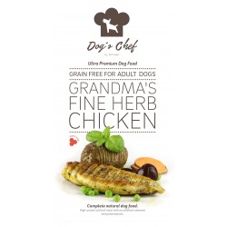 DOG'S CHEF Grandma's Fine Herb Chicken 15 kg