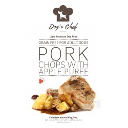DOG'S CHEF Pork Chops with Apple Puree 15 kg