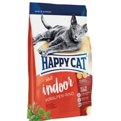 Happy cat Indoor Hovädzie 10 kg