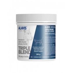 ALAVIS Triple Blend Komplexná kĺbová výživa pre psy a mačky v prášku plv. 200 g