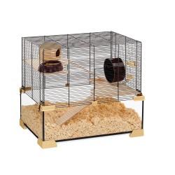 Ferplast sklenená klietka pre škrečky a myši Karat 60
