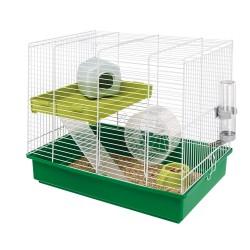 Ferplast klietka pre škrečky a malé hlodavce Hamster Duo