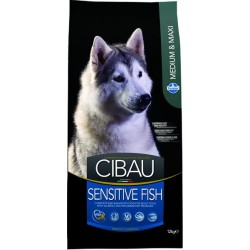 CIBAU dog adult sensitive fish medium & maxi 12 kg