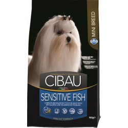 CIBAU dog adult sensitive fish mini 0,8 kg
