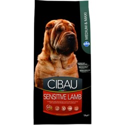 CIBAU dog medium&maxi sensitive lamb&rice 12 kg
