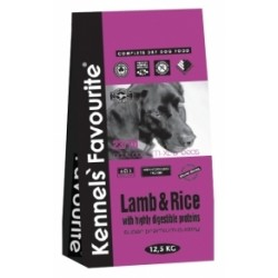 Kennel's Favourite Lamb & Rice 12,5 kg