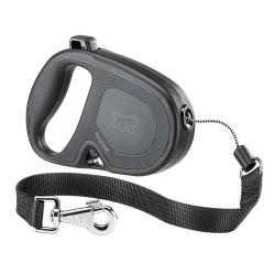 Ferplast Flippy ONE L 5 m čierna samonavíjacia vôdzka pre psy do 35 kg s lankom