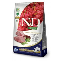 Farmina N&D dog QUINOA Weight Managment Lamb 2,5 kg