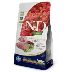 Farmina N&D cat QUINOA Weight Managment Lamb 0,3 kg