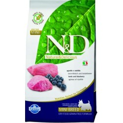 Farmina N&D dog GF adult mini lamb&blueberry 7 kg