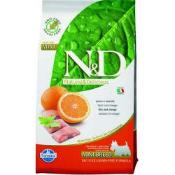 Farmina N&D dog GF adult mini fish&orange 2,5 kg