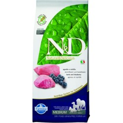 Farmina N&D dog GF adult medium lamb&blueberry 2,5 kg