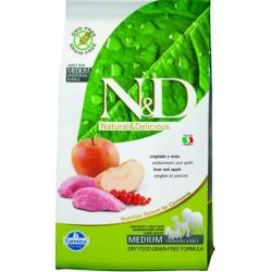 Farmina N&D dog GF adult medium boar&apple 12 kg