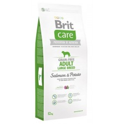 BRIT Care Grain free Adult Large Breed Salmon & Potato 12 kg